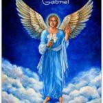 En communication avec l'ange gabriel